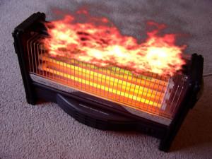 heater fire